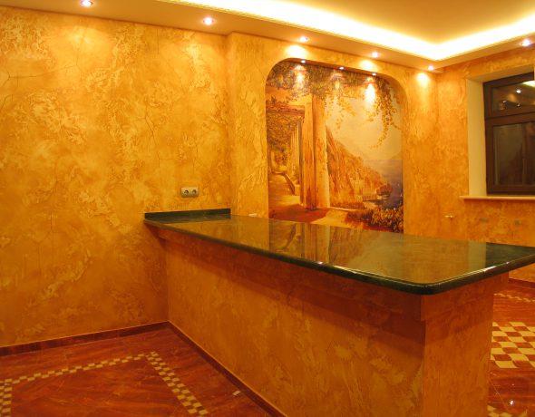 Декоративная отделка и художественная роспись в квартире