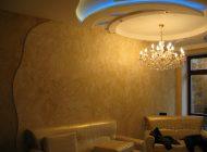 Дизайн интерьера с витражами и художественной росписью