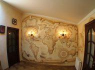 Оригинальная художественная роспись стен