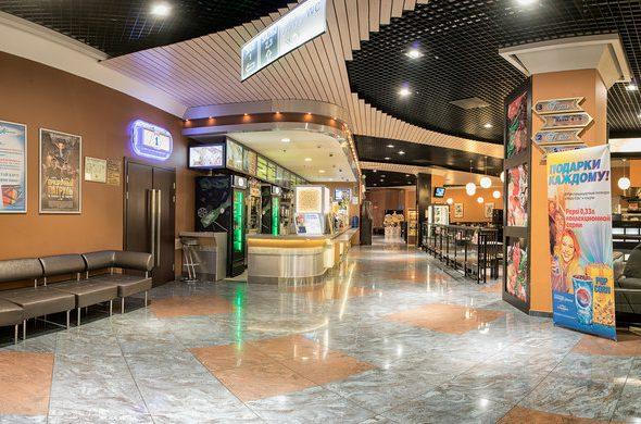 Художественное оформление кинотеатра «Формула кино» в ТЦ Европейский